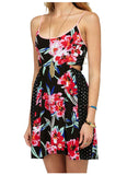 Roxy Juniors' Marina Breeze Dress-Black/Multi