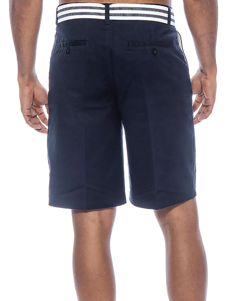 True Rock Men's Bahamas Belted Walking Shorts