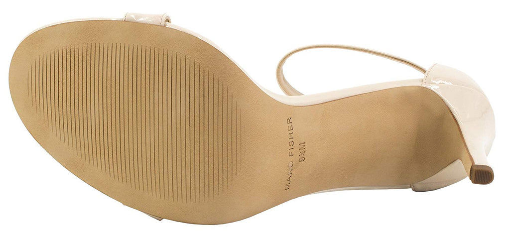 Marc Fisher Women's Bettye2 Heel With Ankle Strap-Natural