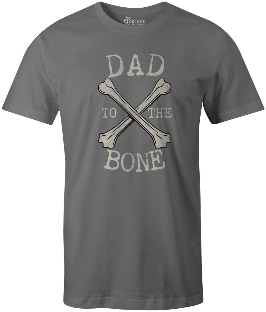 ec85efbe ... 9 Crowns Tees Dad to the Bone Funny Father's Day T-Shirt. Mens Black
