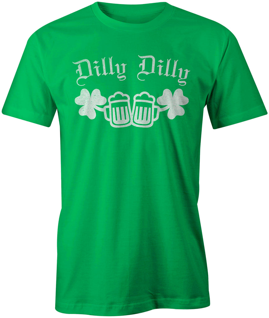 9 Crowns Tees Unisex Funny St. Patricks Day Dilly Dilly T-Shirt