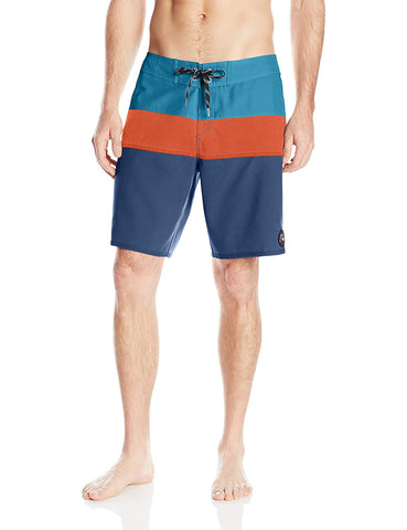 "Quiksilver Men's Classic Panel 19"" Board Shorts-Dark Denim"