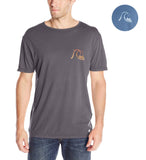 Quiksilver Men's Garment Dyed Bubbly Frother T-Shirt