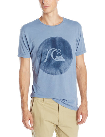 Quiksilver Men's Garment Dyed Ink Bubble T-Shirt