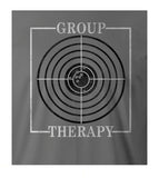 9 Crowns Tees Funny Group Therapy Gun Target Shooting T-Shirt
