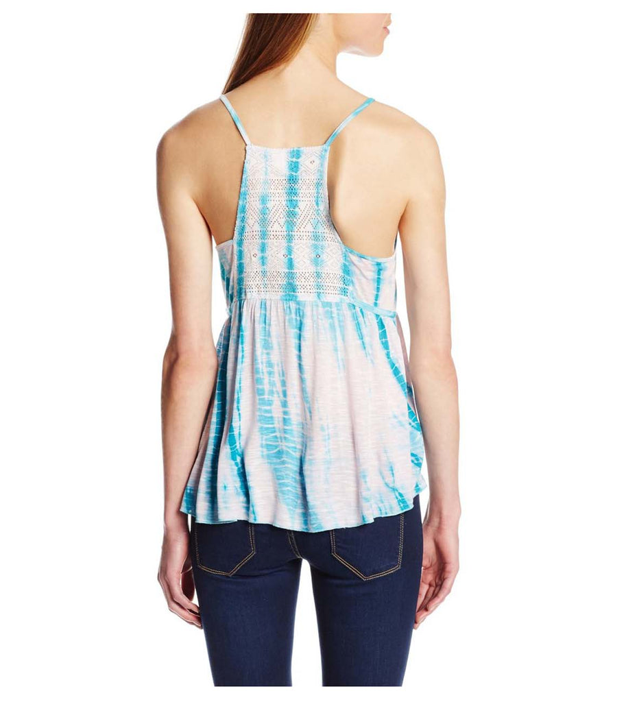 Element Juniors Mosaic Tank Top-Light Seafoam
