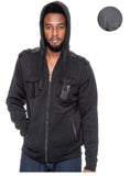 True Rock Men's Full Zip Hooded Jacket