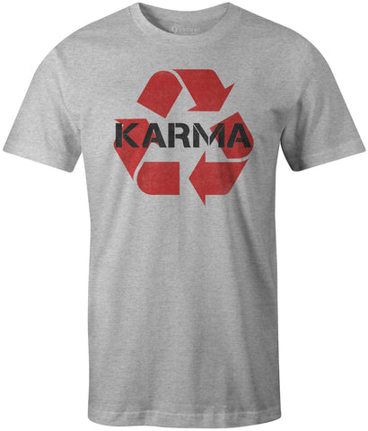 9 Crowns Tees What Goes Around Comes Around Karma Recycle T-Shirt