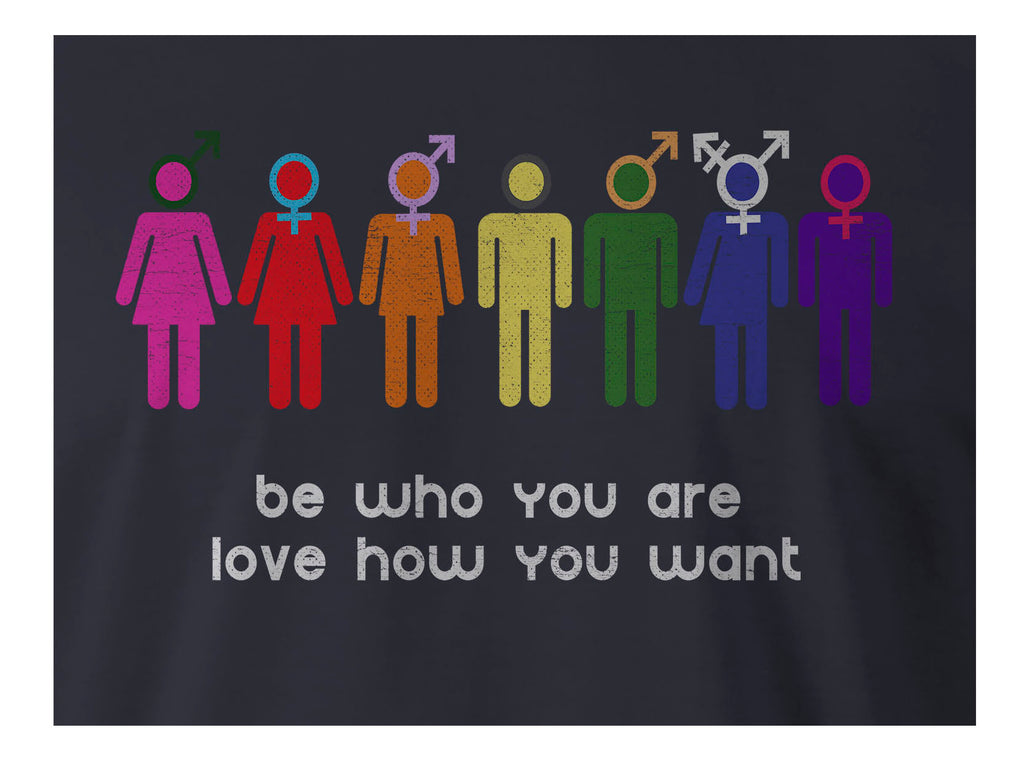 9 Crowns Tees Men's Women's LGBTQ Be You T-Shirt
