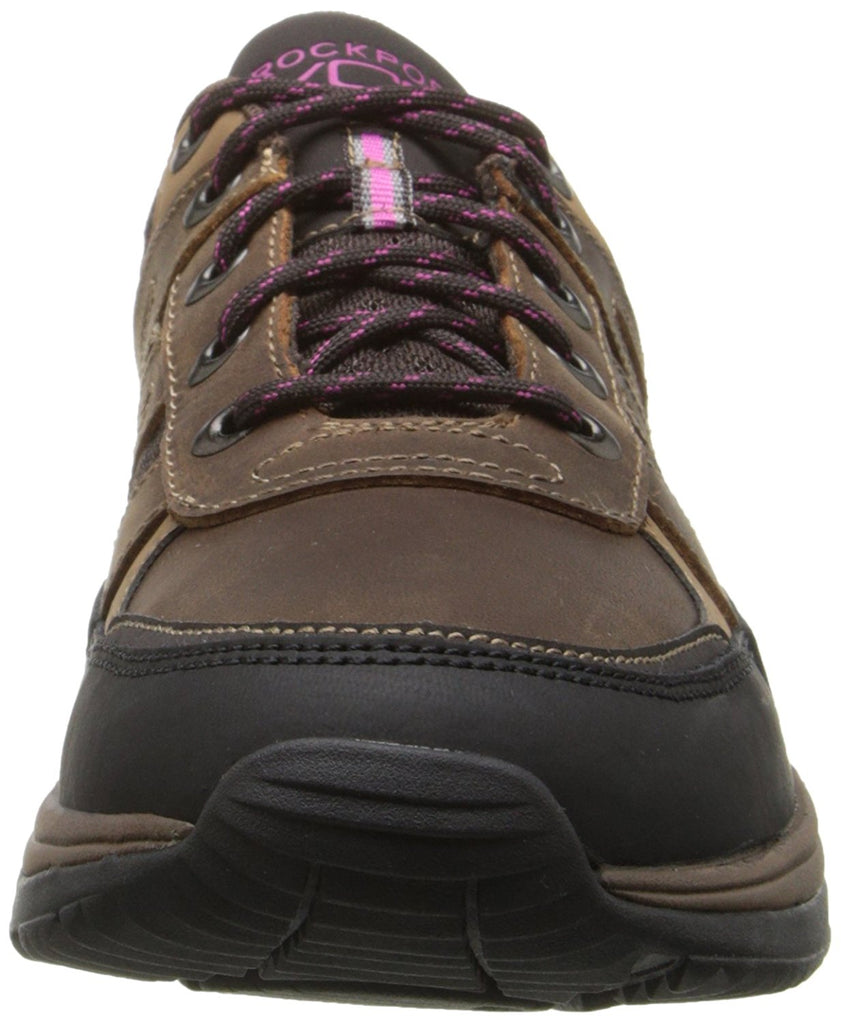 Rockport Women's XCS Urban Gear Mudguard Walking Shoe-Brown Leather