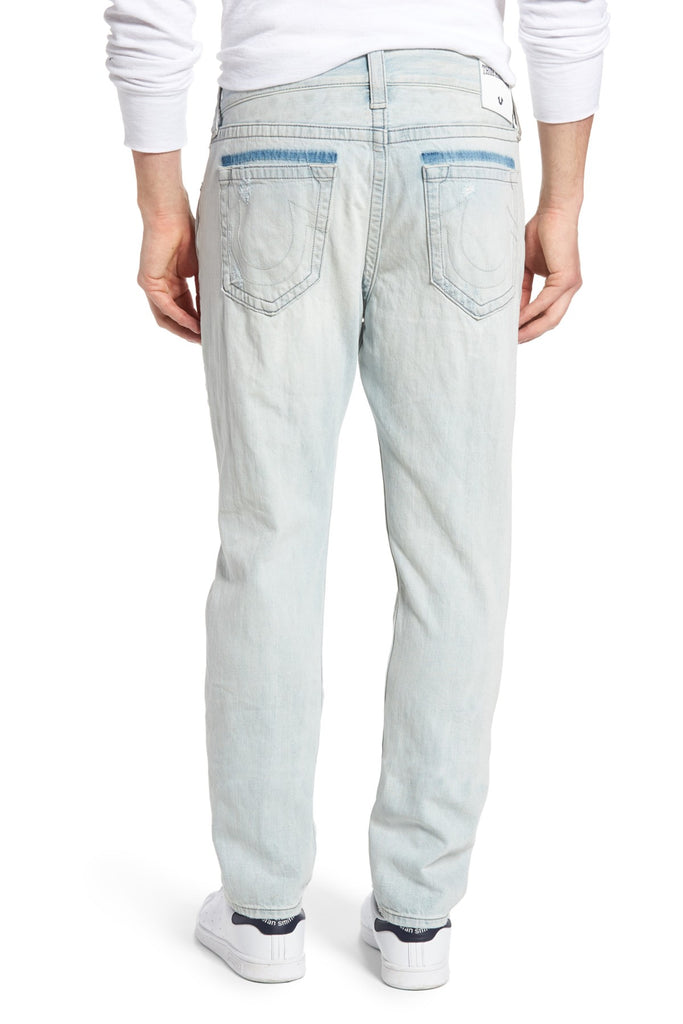 True Religion Men's Dean Slouchy Tapered Jeans