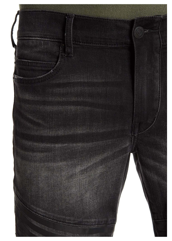 True Religion Men's Geno Moto Relaxed Slim Jeans