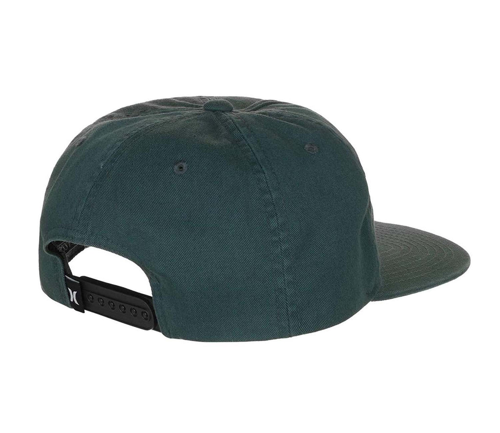 Hurley Men's No Bueno Adjustable Snapback Hat-Space Blue