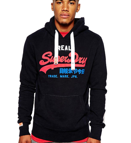 Superdry Men's Tri-Color Logo Entry Hoodie