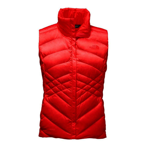 The North Face Women's Aconcagua Puffer Vest-High Risk Red
