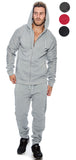 TR Men's Lightweight Fleece Hoodie Sweatsuit by 9 Crowns Essentials