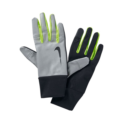 Nike Women's Vapor Flash Running Gloves-Black/Volt
