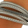 9 Crowns Essentials Ole Women's Double Rhinestone Strap Bracelet