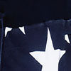 True Rock Men's USA American Flag Independence Day Elastic Waist Shorts