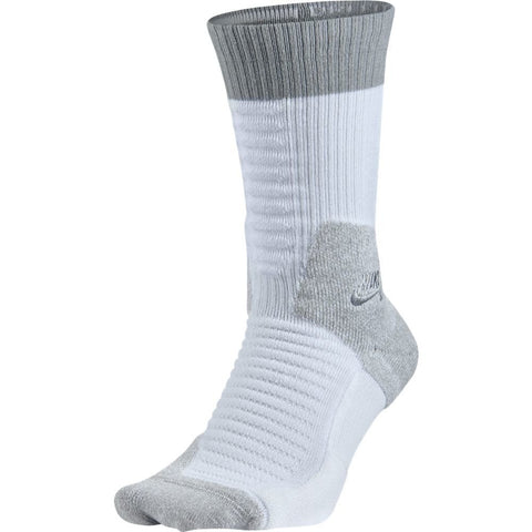 Nike SB Elite Skateboard Crew Socks-White