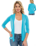True Rock Junior's Tapasol  3/4 Sleeve Lightweight Cardigan