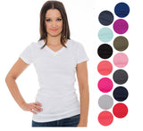 True Rock Jr Women's Venus Plain V-Neck T-Shirt