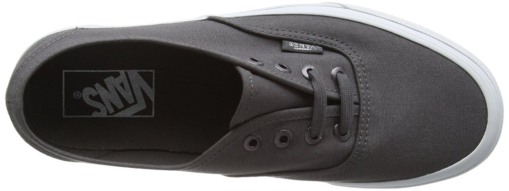 Vans Unisex Authentic Multi Eyelets Skate Shoes-Perf/Gray