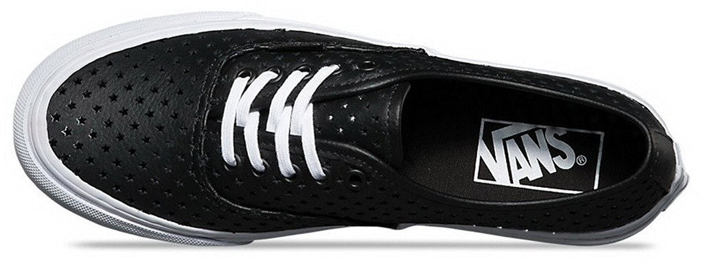 Vans Unisex Authentic Slim Perforated Stars Skate Shoes