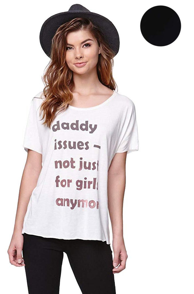 RVCA Juniors Daddy Issues Graphic T-Shirt