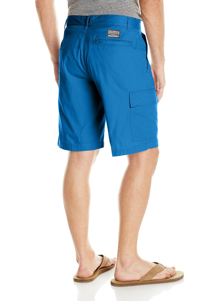 Columbia Men's Red Bluff Cargo Shorts-Blue