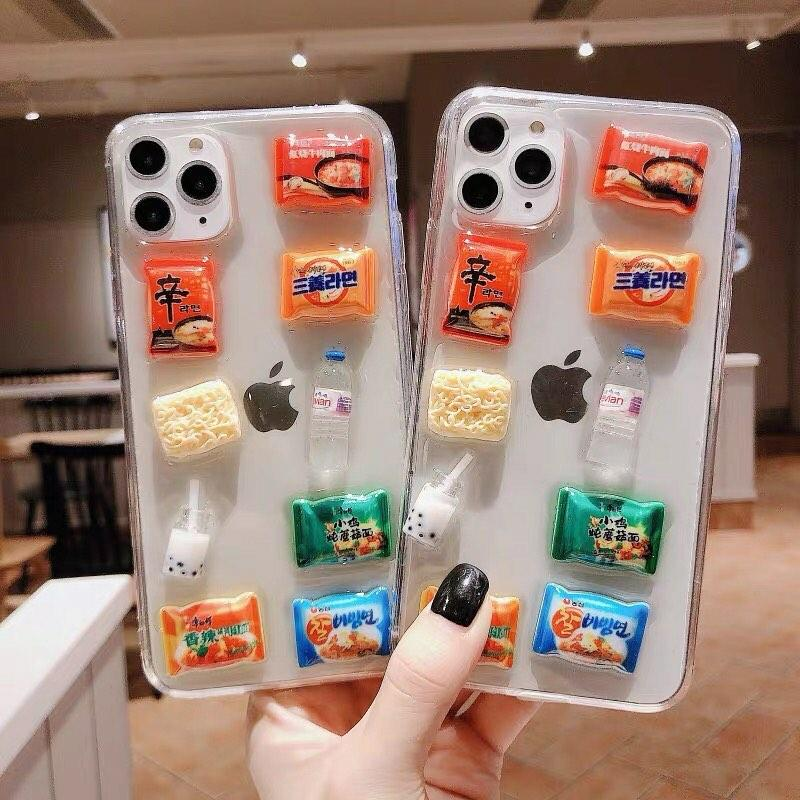 3D Yummy Snacks iPhone Case