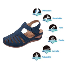 Load image into Gallery viewer, Dr. CARE™ - PREMIUM ORTHOPEDIC ROUND TOE SANDALS (#1 MOST WANTED)
