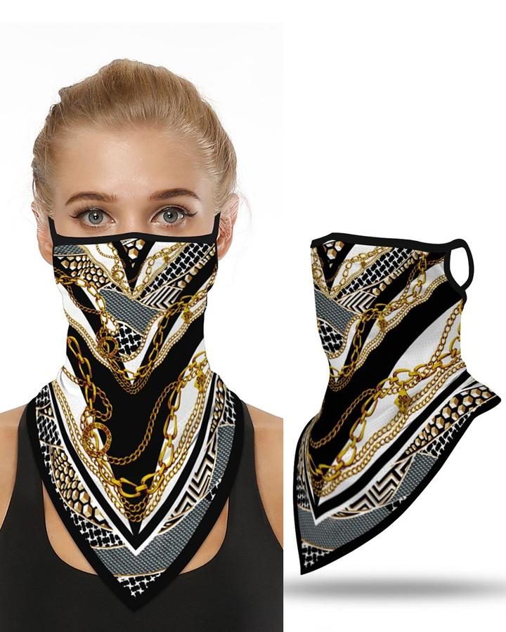Print Breathble Face Cover Windproof Motorcycling Dust Outdoors