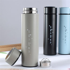 LED Temperature Display Water Bottle