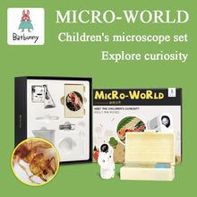 Load image into Gallery viewer, Micro world children's portable cell phone microscope