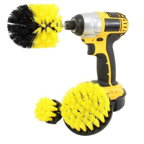 3-in-1 Electric Drill Brush Head