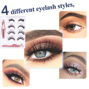 Reusable Magnetic Eyelash Kit