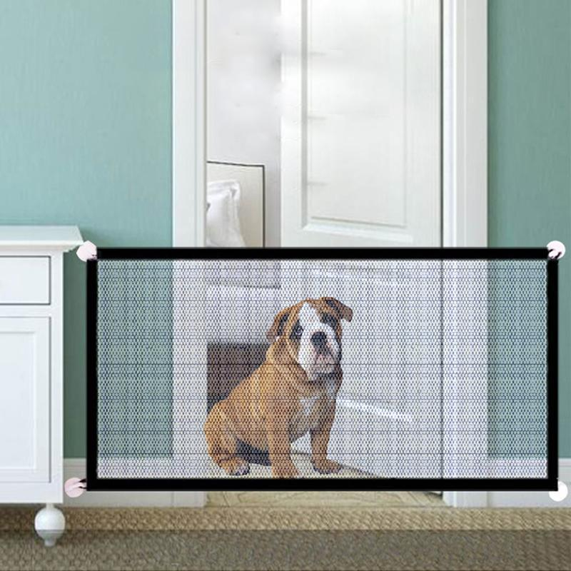 Magic Gate for Dogs Mesh Pet Safety Gate