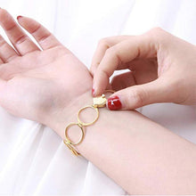 Load image into Gallery viewer, 2 in 1 Women's Deformation Magic Ring Bracelet