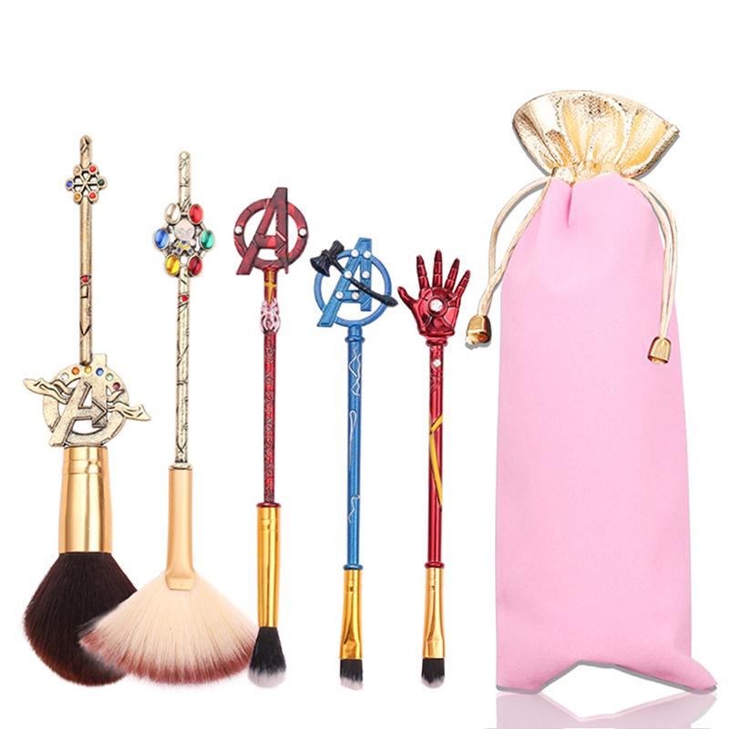 Makeup Brush - 5Pcs
