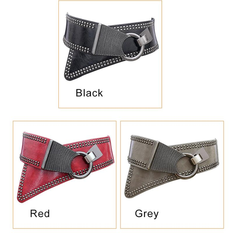 Maikun Fashion Punk Rocker Wide Belts