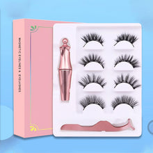 Load image into Gallery viewer, Reusable Magnetic Eyelash Kit