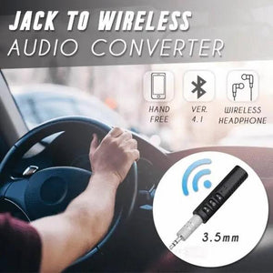 Jack To Wireless Audio Converter