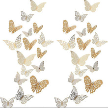 Load image into Gallery viewer, Butterfly 3D Wall Decals