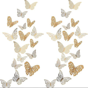 Butterfly 3D Wall Decals