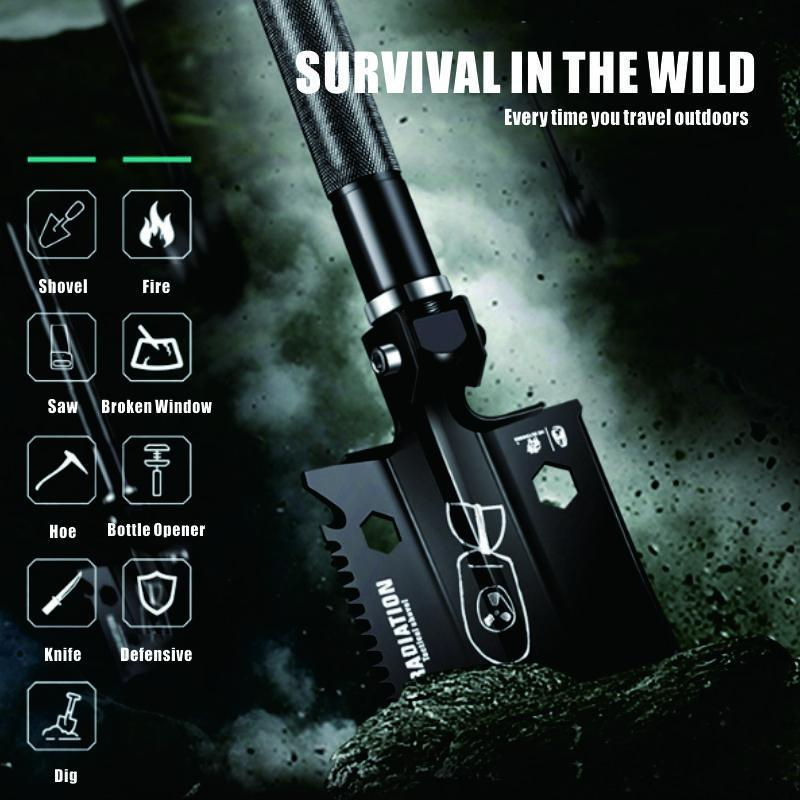 Portable Military Folding Shovel