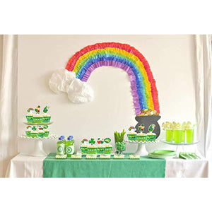 St Patrick's Day Cupcake Toppers and Wrappers
