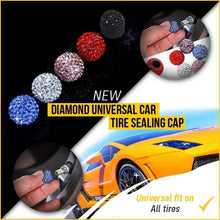 Load image into Gallery viewer, Rhinestone Universal Tire Valve Caps
