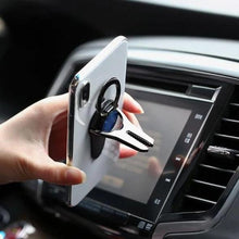 Load image into Gallery viewer, 2-in-1 Mobile Phone Ring Holder Car Bracket
