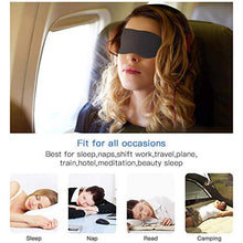 Load image into Gallery viewer, Eye Mask for Sleeping 3D Contoured Cup